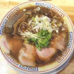 読谷にオープンしたサバ6製麺所Plusで「サバ醤油そば」を食べてきた