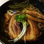 「焦がし醤油」 麺や堂幻(那覇市前島)