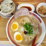 「素晴らしいコスパの豚骨ラーメンランチCセット」つけ麺ラーメン龍神(那覇市泉崎)